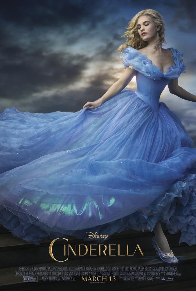 Disney's live action Cinderella 2015 movie poster