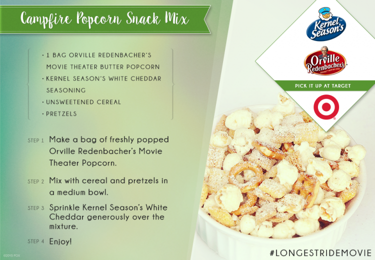 Campfire popcorn recipe: snack mix for your perfect date night in!