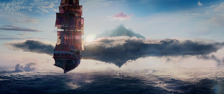 Pan movie still: Pan trailer and sneak peek ~ The Jolly Roger is on its way to Neverland!