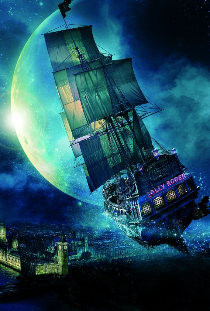PAN trailer and sneak peek: The Jolly Roger in PAN. Photo: Warner Brothers Pictures