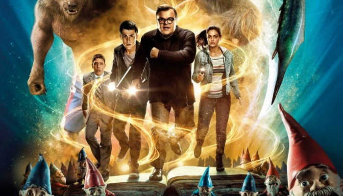 "Goosebumps movie poster: The 2015 children's ""horror"" movie stars Jack Black as R.L. Stine."
