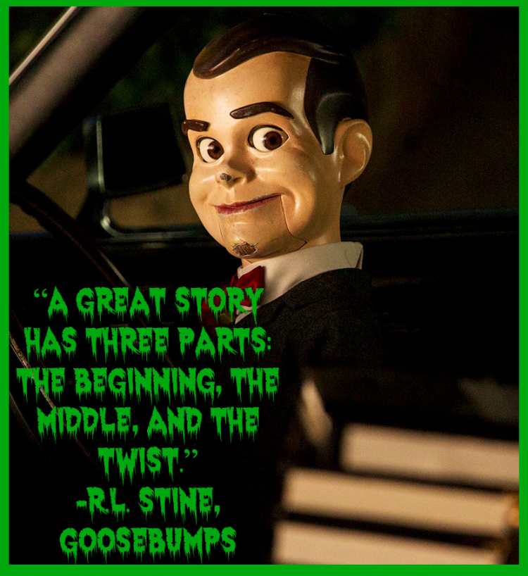 Slappy in the Goosebumps movie