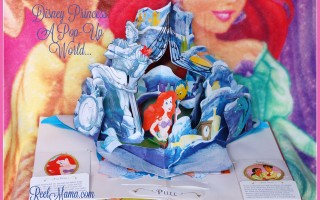 Ariel's Grotto in Disney Princess: A Pop-Up World, beautiful keepsake gift for your little princess