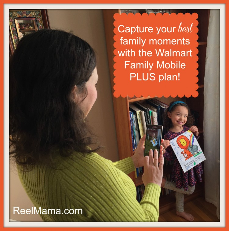 Capture your best family moments with the Walmart Family Mobile PLUS plan! #DataandAMovie #CollectiveBias #ad