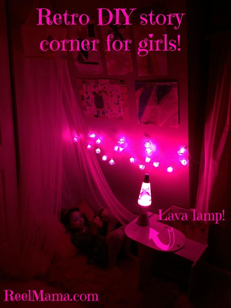 DIY story corner for girls #DataandAMovie #CollectiveBias