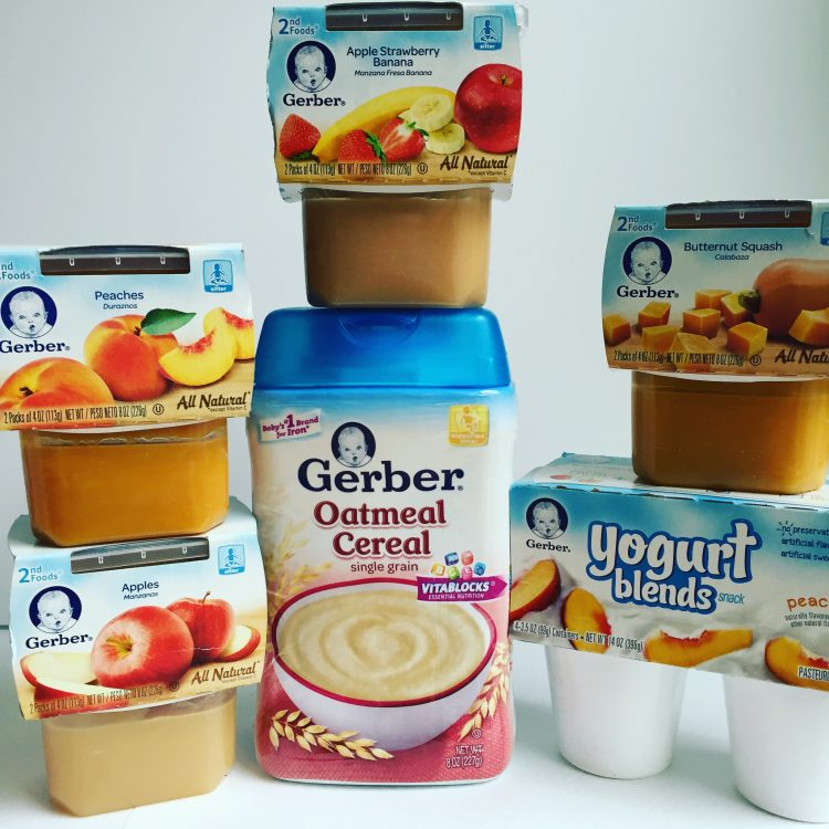 Gerber cereal and baby food #CookingWithGerber