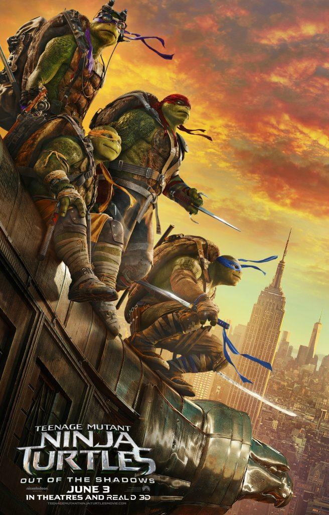 Teenage Mutant Ninja Turtles 2 Out of the Shadows movie poster
