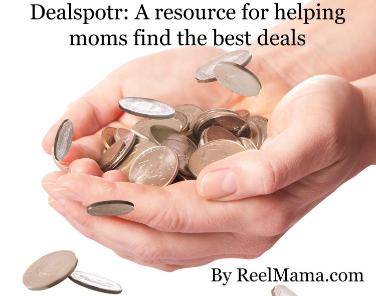Dealspotr deal website for moms