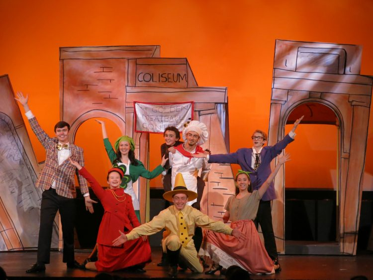 Boston Children's Theater Curious George