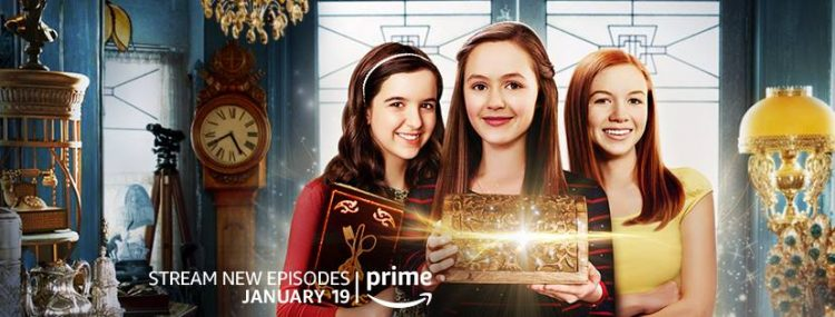 Just Add Magic new episodes now streaming on Amazon Prime in January 2018