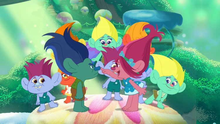 Trolls and the Beat Goes On is an animated series continuing the story where Trolls the movie left off.