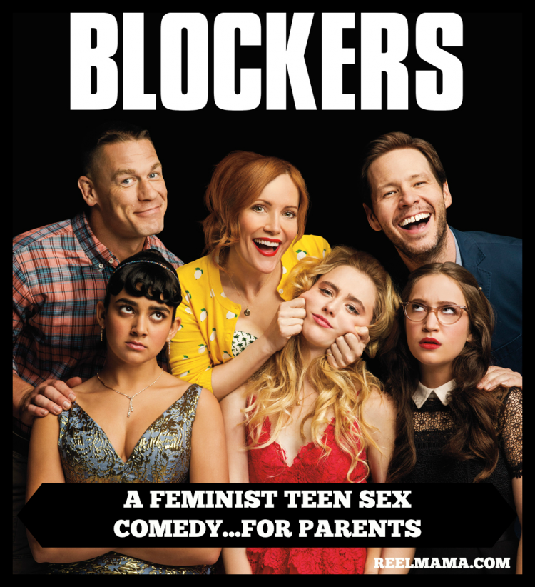 Blockers Movie Poster with ReelMama review