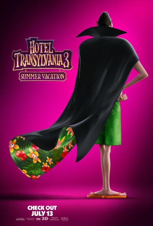 Hotel Transylvania 3 Movie Poster