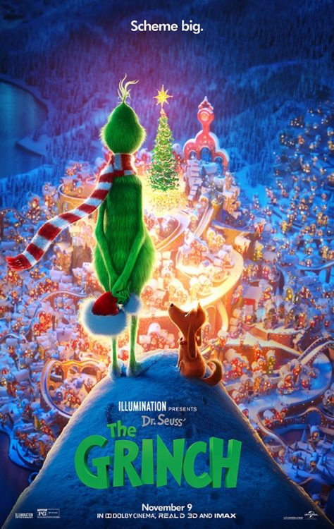 Dr. Seuss The Grinch movie poster