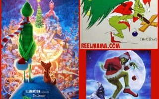 The Grinch triple feature for Christmas family movie viewing fun