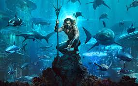 Aquaman movie still starring Jason Momoa