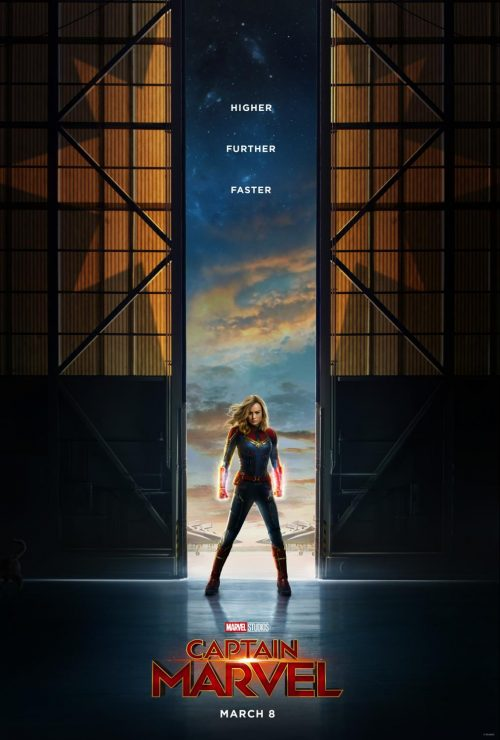 Disney's Captain Marvel: a first look at the movie poster featuring Oscar-winning actress Brie Larson