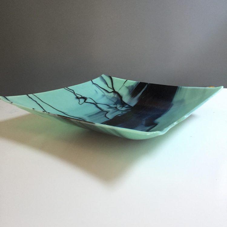 Glass wear by Glass Paper Scissors artist Kolika Chatterjee