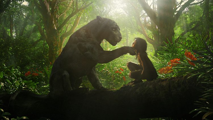 Mowgli on Netflix features Christian Bale as the panther Bagheera and Rohan Chand as Mowgli. (Photo: Netflix)