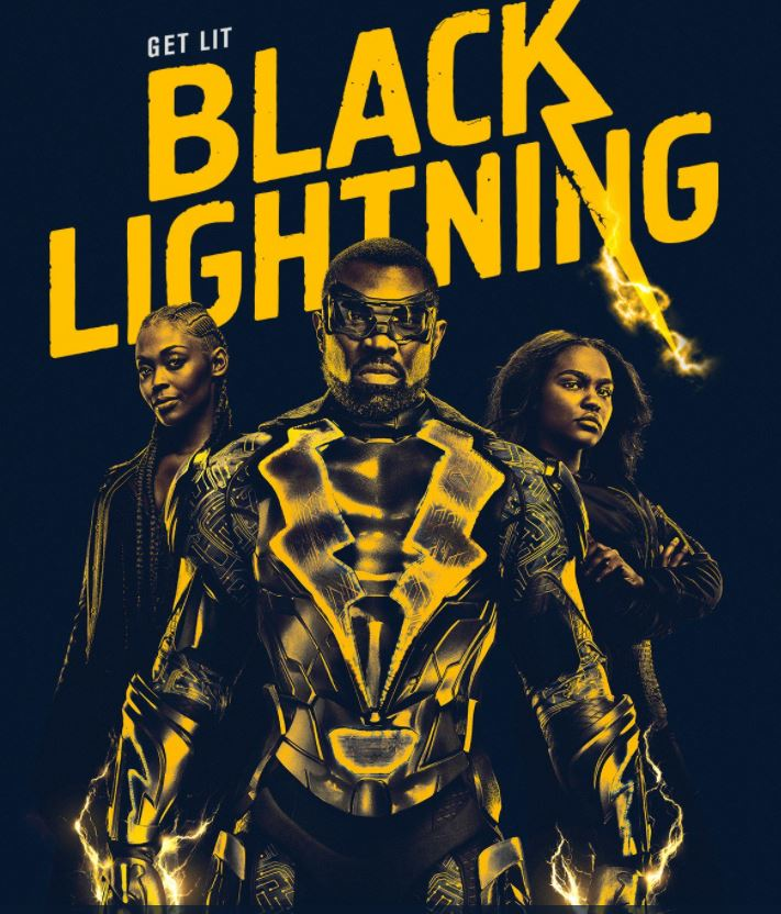 Black Lightning from DC Comics on the CW