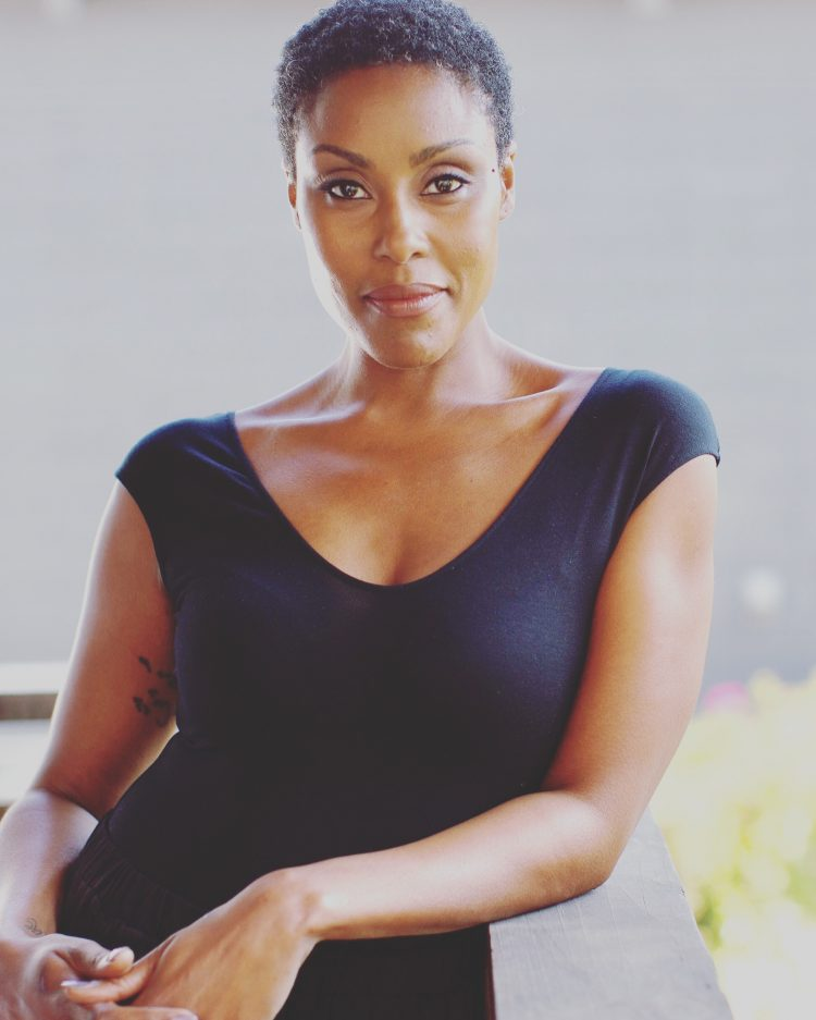 Black Lightning star and badass supermom Christine Adams