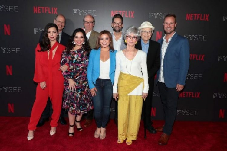 The cast and creators of the One Day at a Time Series on Netflix