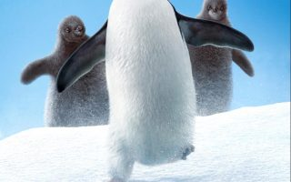 DisneyNature Penguins movie poster