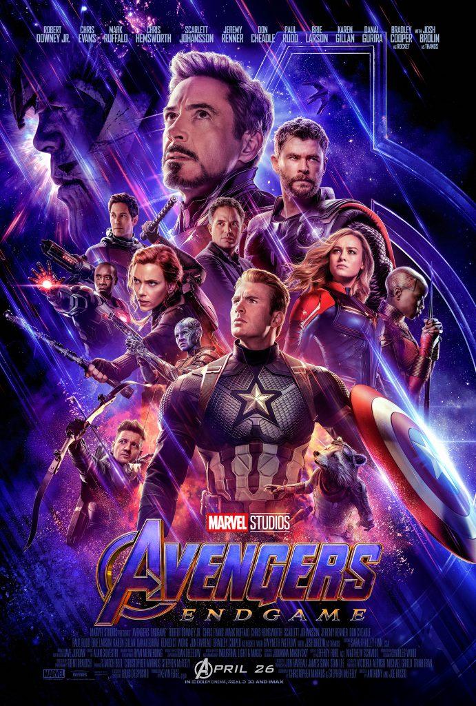 Marvel Studios' Avengers End Game movie poster