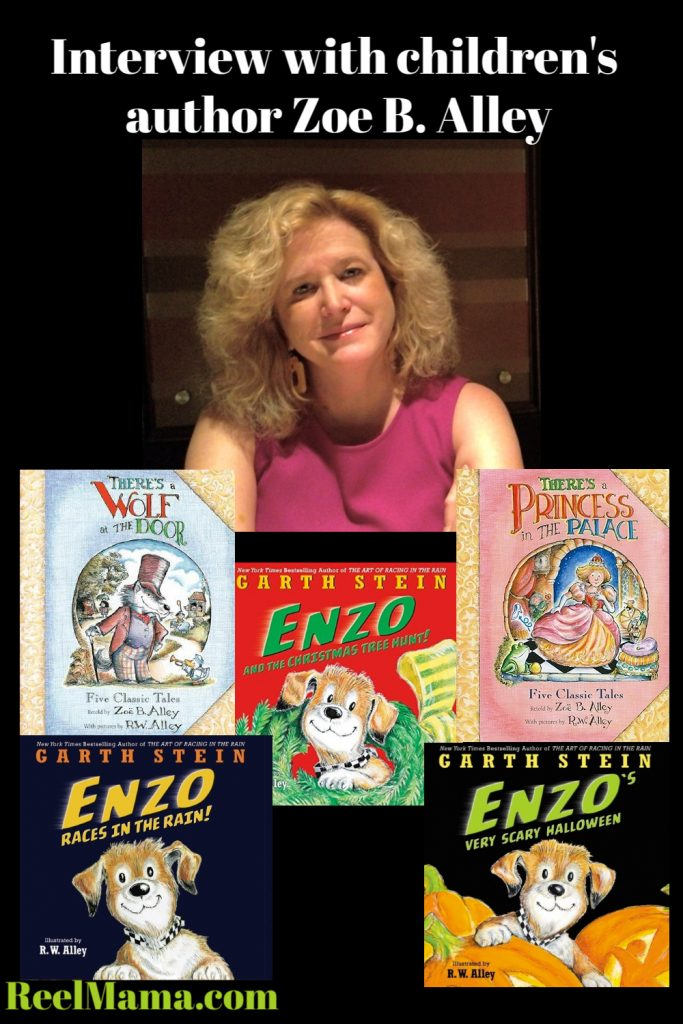 Children's book author Zoë B. Alley