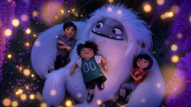 Yi and her friends show everest the love in Abominable.