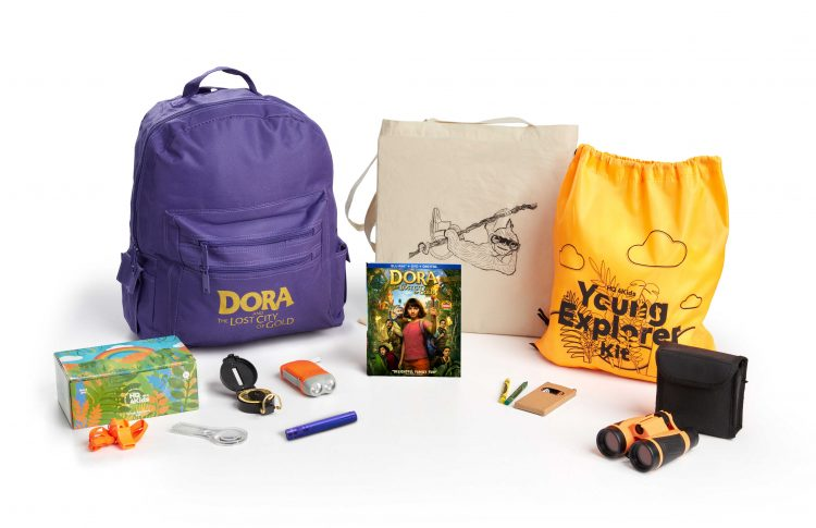 Dora and the Lost City of Gold adventure kit for kids