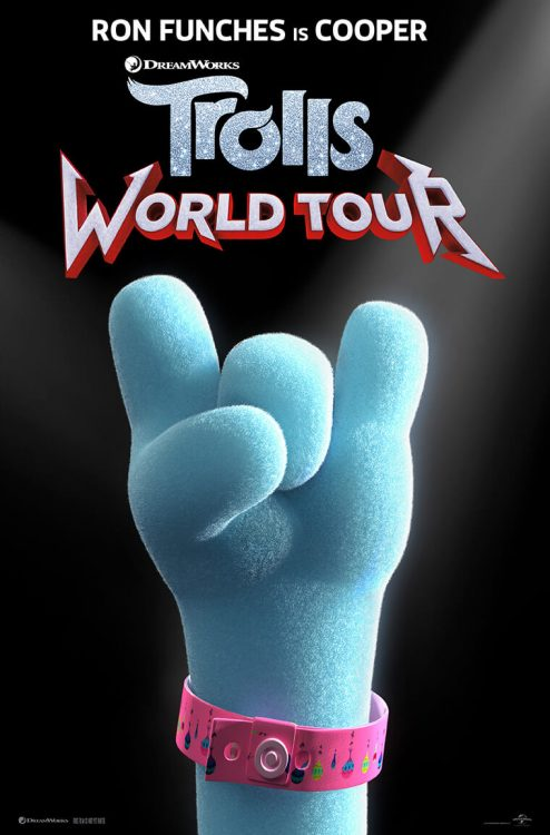 Trolls World Tour poster: Ron Funches stars as Cooper