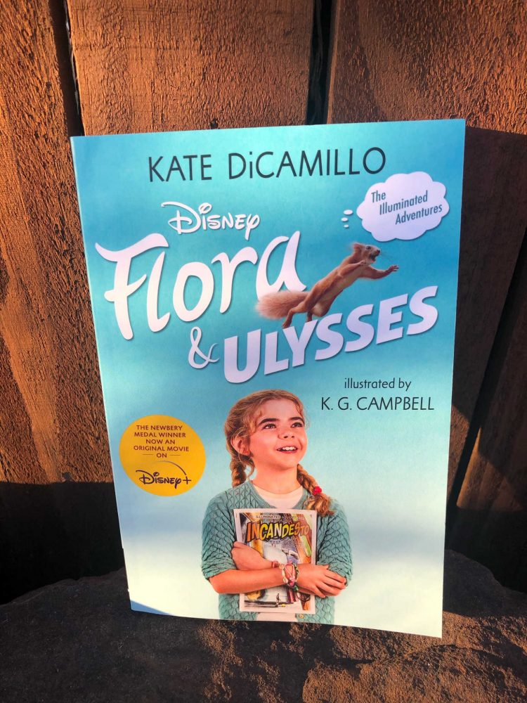 Image of Flora and Ulysses book by Kate DiCamillo