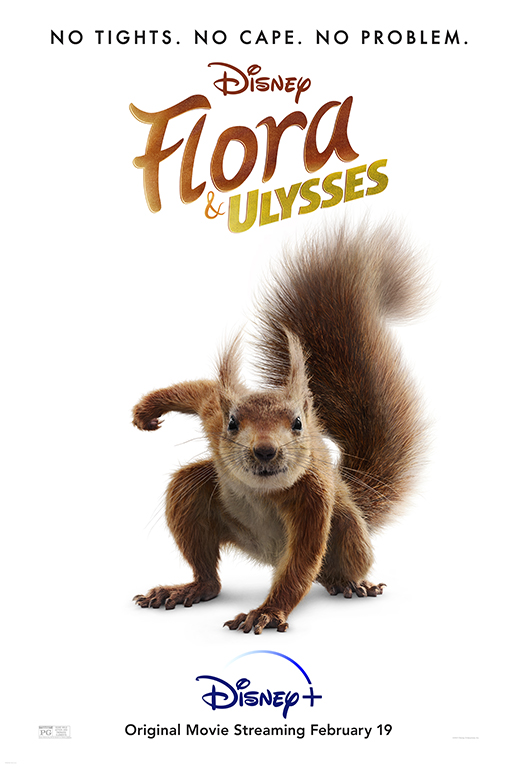 Flora and Ulysses movie poster