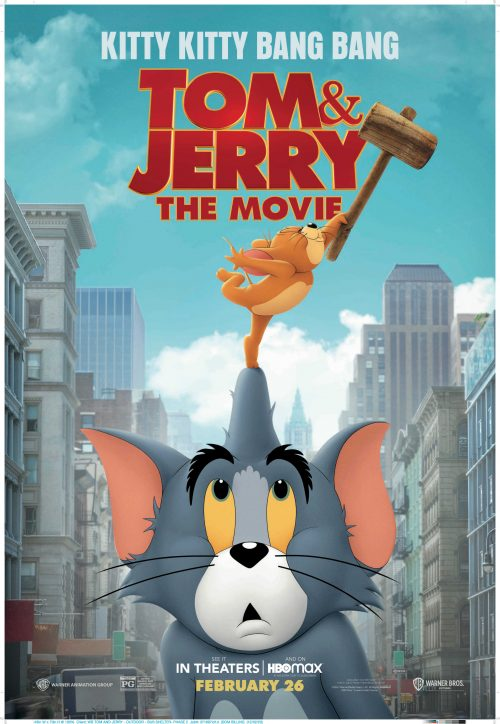 Tom and Jerry 2021 movie poster