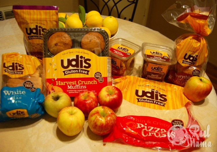 Udi's Gluten Free review & Scrumptiously Easy pizza recipe