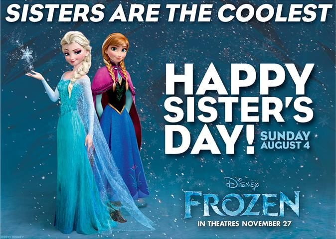 Sisters' Day 2020 - Monday August 3, 2020  |Sisterhood Day