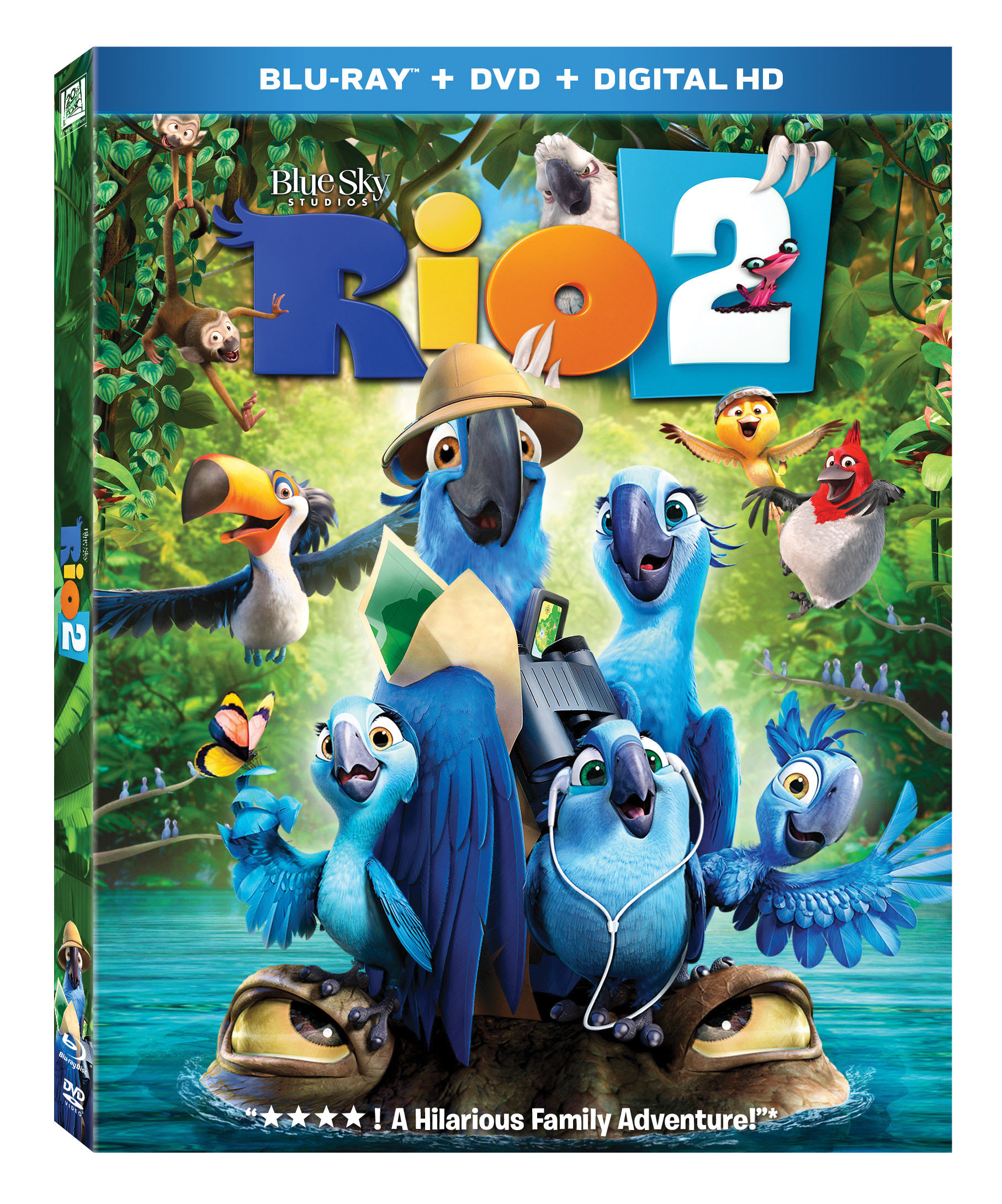 Rio 2 Coloring Page | Blu | Jewel | Coloring pages, Coloring books ... | 2181x1815