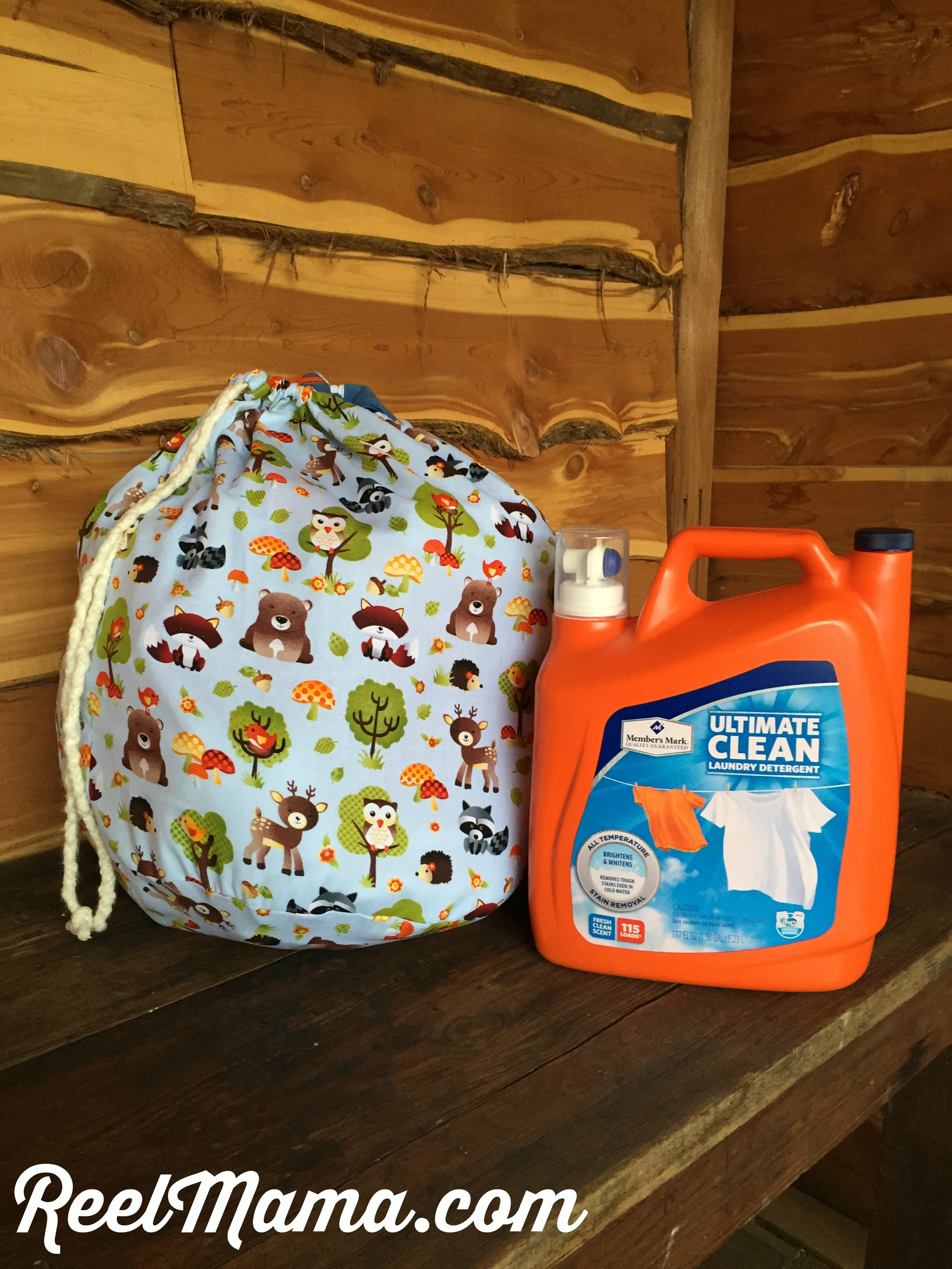 Member's Mark Ultimate Clean Liquid Laundry Cleaner is wonderful for washing baby clothes. Pictured here